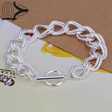 Top Quality Hot Sell Silver Plated Bracelet,Wedding Jewelry Accessories,Flash Twisting Double Circle TO Bracelets Bangle