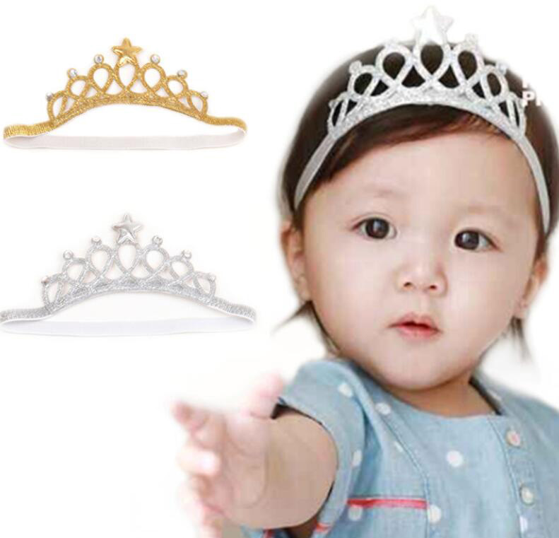 1 Piece MAYA STEPAN Headwrap Crown Birthday Baby Headbands Girls Hair Head Band Newborn Toddler Headwear Infant Princess Gift