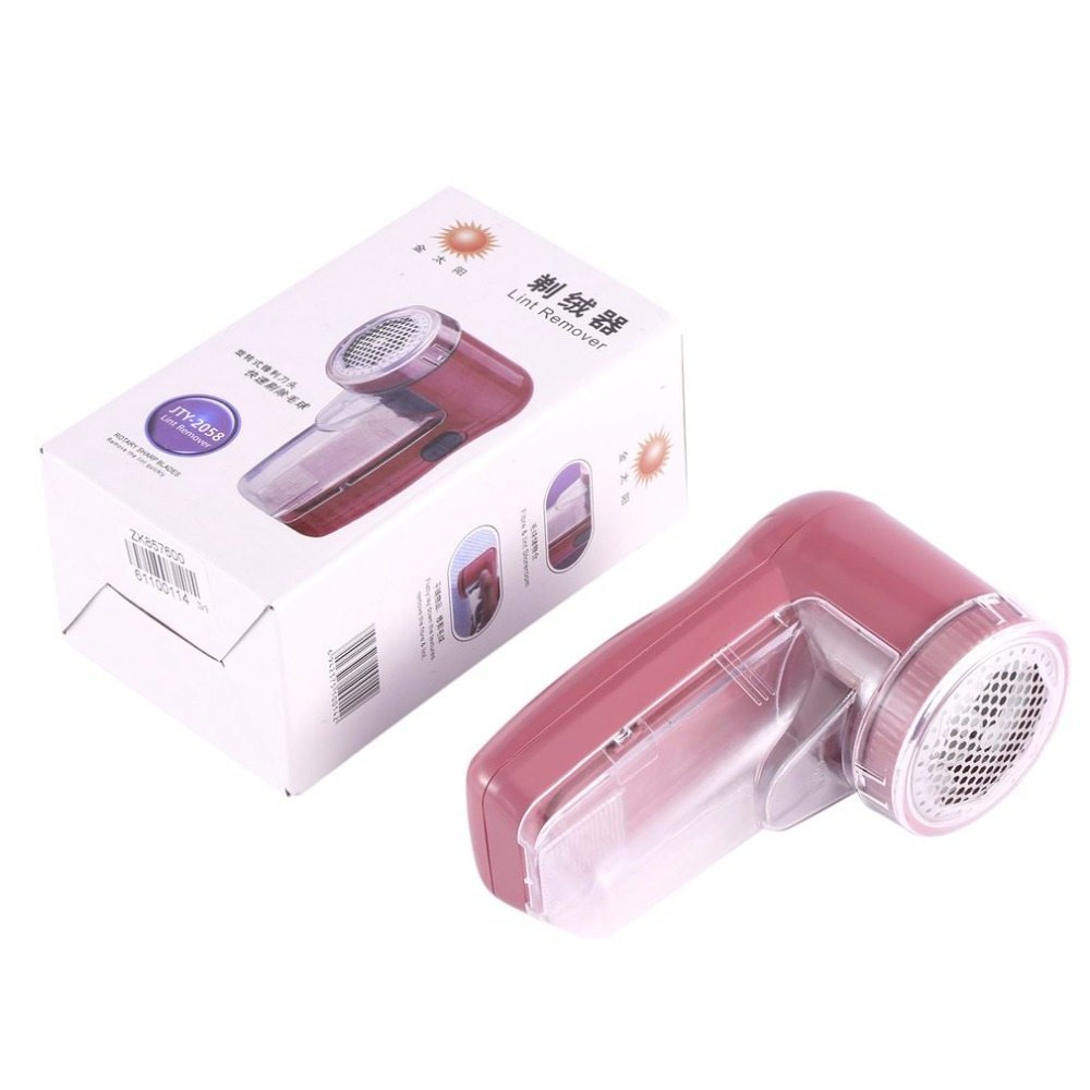 New Portable two batteries clothing pill lint remover sweater substances shaver machine to remove the pellets Compact in size