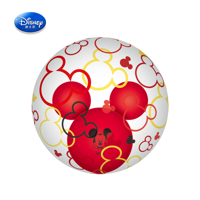 47*47cm Disney Genuine Inflatable Toy Balloon Mickey Transparent Bubble Ball Monochrome Mickey Head Ball In The Ball Toys
