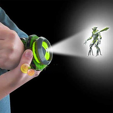 цена на Kids Toys Earth Defence Junior Ban Hacker 10 Projection Watches Kids Gifts