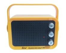 3W MP3 IN mini amplifier for ukulele mini portable UKULELE amplifier with carry handle mini amplifier with TREBLE VOLUME GAIN
