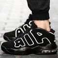Los hombres Zapatos Casuales Transpirable de Alta Superior Zapatos Deportivos Para Caminar Trotar Zapatos Entrenadores Aire Superstar Basket Zapatillas Unisex Rojo Negro