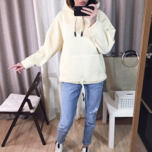 Oversize-Sweatshirt Female Hoodie Obrix Large Streetwear Urban-Style Autumn Women