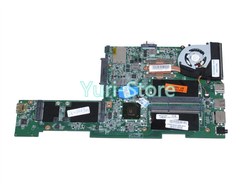 NOKOTION FRU 04w3372 laptop motherboard FOR lenovo thinkpad X121E DA0FL8MB8C0 REV C i3-2367M cpu Onboard HM65 DDR3 nokotion sps v000198120 for toshiba satellite a500 a505 motherboard intel gm45 ddr2 6050a2323101 mb a01