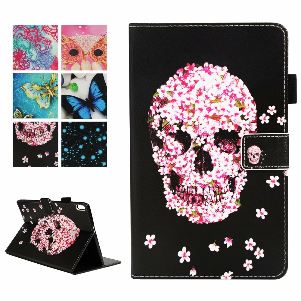 3D Fashion Cool Pattern Cover For Lenovo Tab 4 10 Plus 10.1