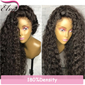 8A Brazilian Top Quality Full Lace Wig With Baby Hair Water Wave Full Lace Human hair Wigs Glueless Lace Front Human Hair Wigs
