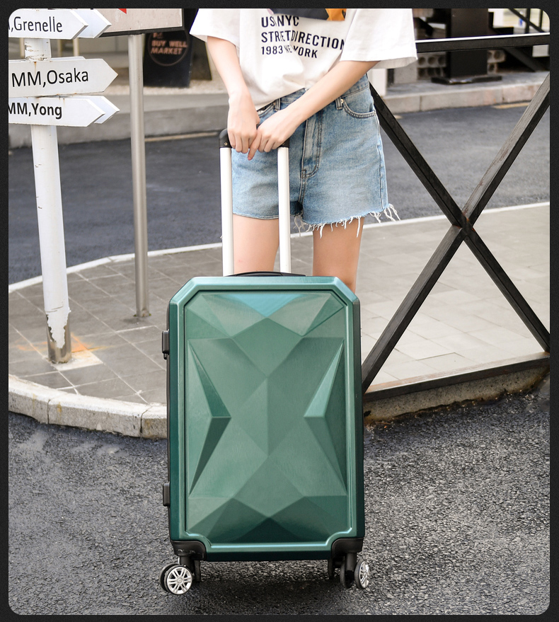 【Sinor】20 inch Waterproof Spinner Luggage Travel Business Large Capacity Suitcase Bag Rolling Wheels Gray Color US Free Shipping - 6