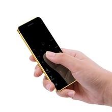 Ультратонкий карта мобильного телефона Ulcool V36 металлический корпус набиратель номера через Bluetooth FM радио Dual SIM карты карманный мобильный телефон