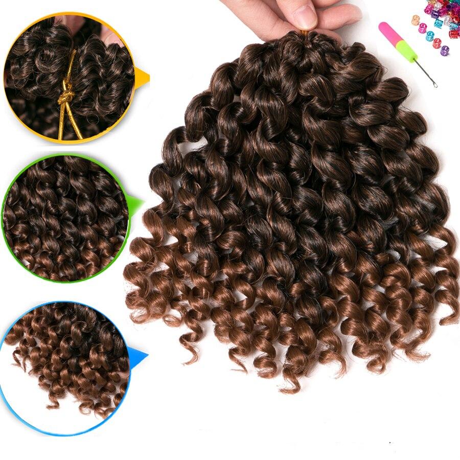 Crochet Braid Hair wand curl