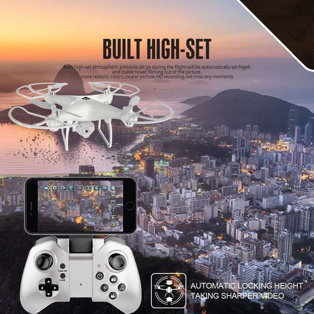 Xs808 Remote Control Drone Altitude Hold With Camera Real Time