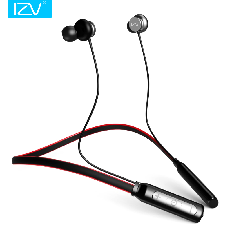 IZV Original Brand Neckband Sports bluetooth Earphone hotsale stereo BT4.1 Magnetic Cable control bluetooth headset for Xiaomi