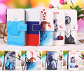 "Multi colors Cartoon Printing Flip Wallet PU Leather Case for HDC Space Note 7 Pro 5.5"" Phone cover case Bag + Tracking Number"