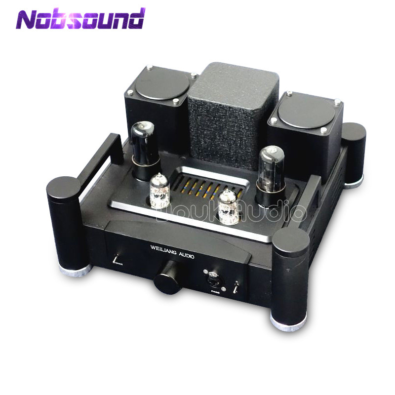 цена на Hi-end Desktop HiFi 12AX7 Vacuum Tube Headphone Amplifier Valve Pre-amp With Output Transformer Pre-Amplifier