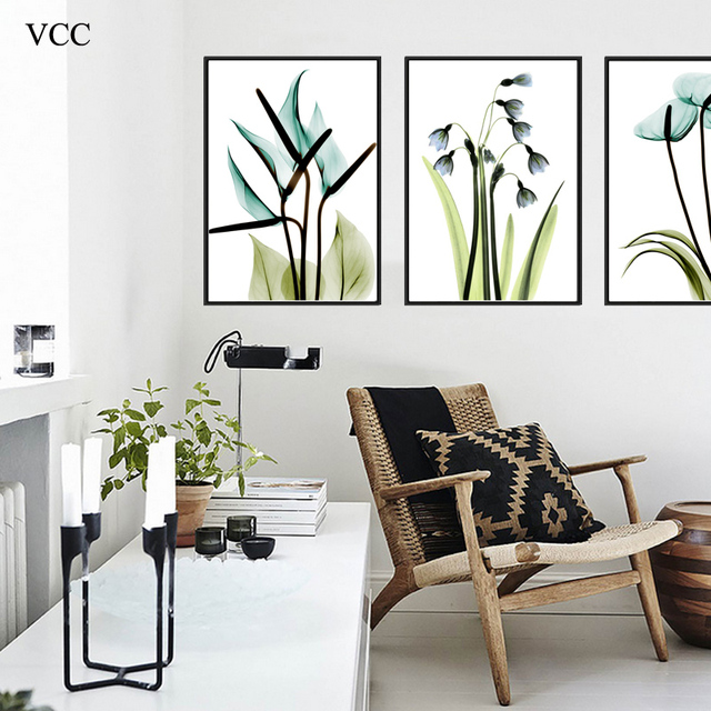VCC Plant Flowers Canvas Art PicturePaintings On The Wall Art