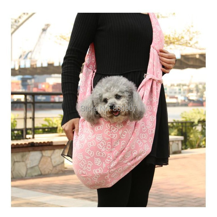 Pet Sling Dog Cat Puppy Small Animal Carrier Candy Pattern ...