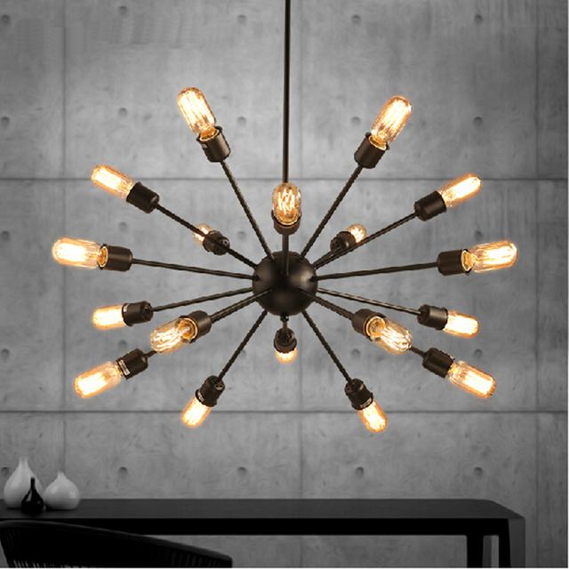 Industrial Pendant Light For Bedroom Vintage Lamp White