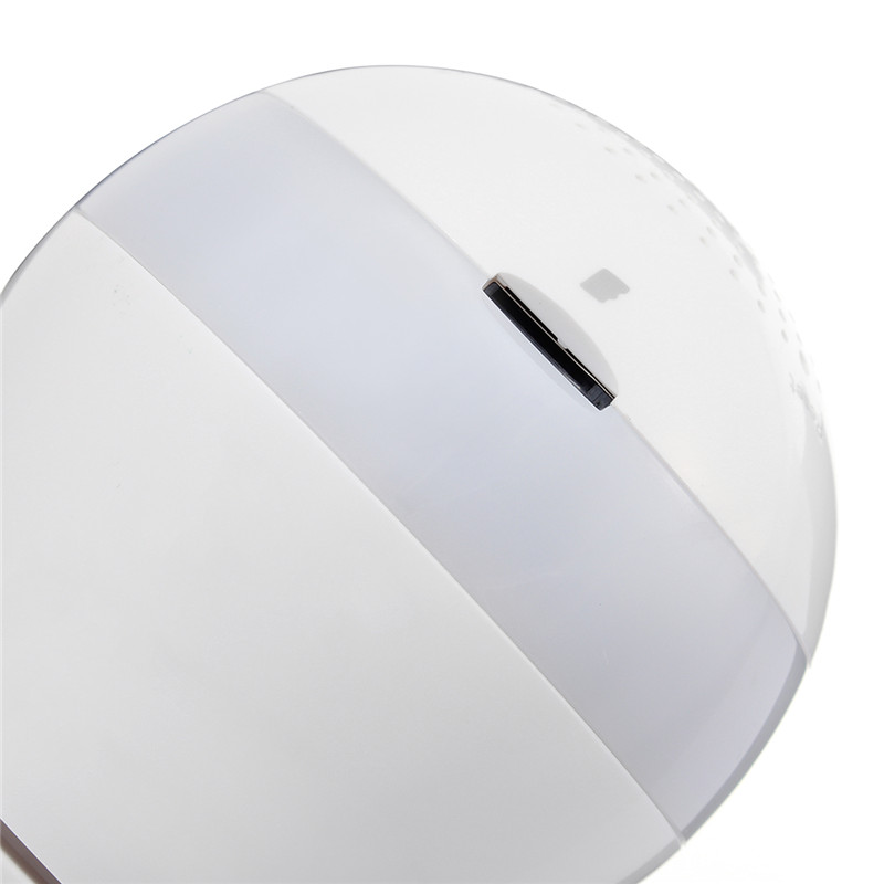 1080 P 360 degrés sans fil IR caméra ampoule lumière E27 Fisheye maison intelligente CCTV sécurité à domicile WiFi caméra panoramique - 5