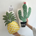 Cute fruit plant shape cushion Cotton Fashion Baby Pillow Kids home Creative Decoration Baby Bedding Pillows Pineapple cactus