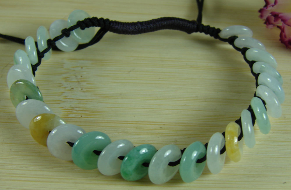 Chinese, Bracelet, Bangle, Coin, Jade, Handmade