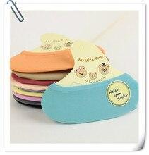 Hot Children's Velvet boat socks Solid Color Boys socks and Girls socks invisible socks with Silicone 11 Colors