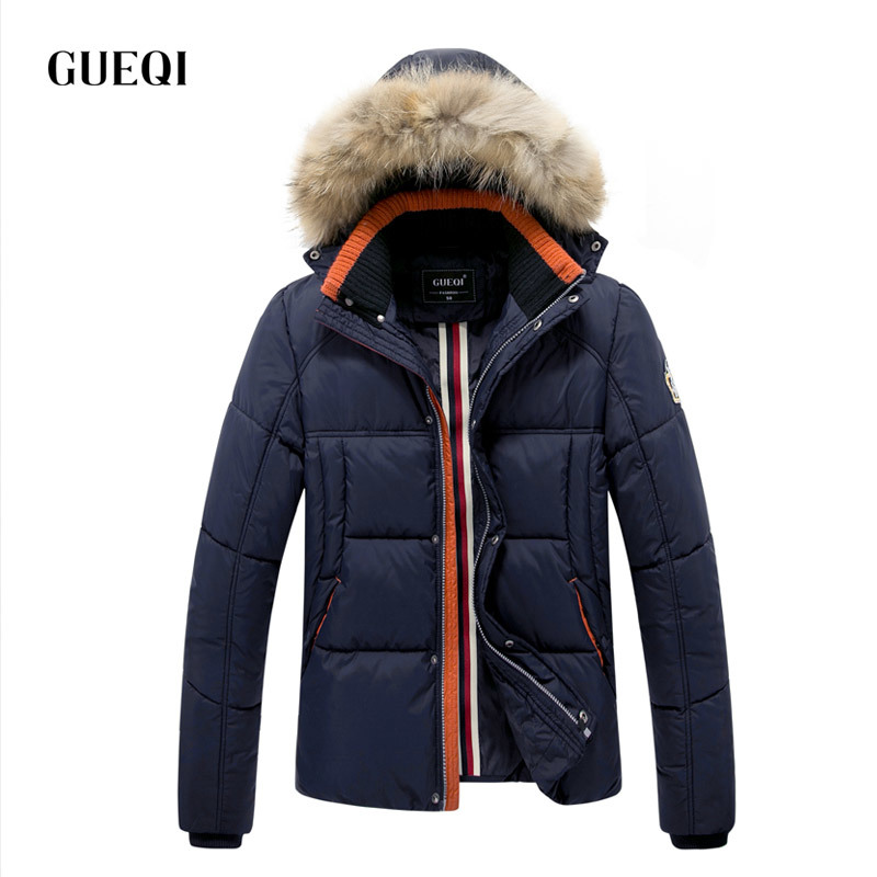 Подробнее о GUEQI 2017 Men New Winter Jacket Brand Clothing Warm Casual Solid Men's Popular Hooded Parkas For Male Jackets Outwear Coats 316 winter jacket men coats thick warm casual fur collar winter windproof hooded outwear men outwear parkas brand new