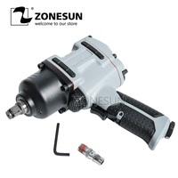 ZONESUN Free Shipping 16mm Bolt Size Pneumatic Impact Wrench Air Tools Spanners For Car Bicycle Repair Pneumatic Tools