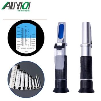 YH-505 Pure copper  Refractometer Clinical Medical  Urine/Protein1.3330~1.3600RI  Precision or 0.0005RI Serum Plasma Hemoglobin
