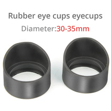 2PCS Eye Guards Stero Microscope eyepiece Eye Piece 32-35mm