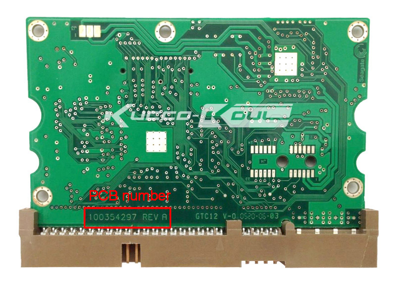 hard drive parts PCB logic board printed circuit board 100354297 for Seagate 3.5 IDE/PATA hdd data recovery hard drive repair