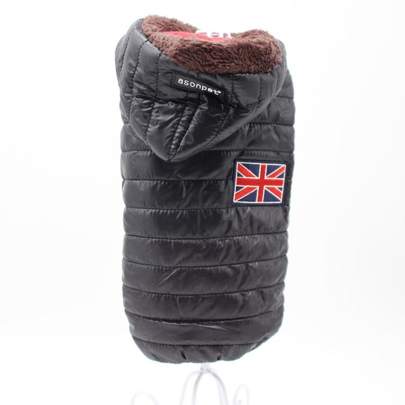 Новая зимняя одежда для собак для маленьких собак, теплый пуховик, водонепроницаемая куртка для собак, толстый хлопковый лыжный костюм, одежда для чихуахуа-2