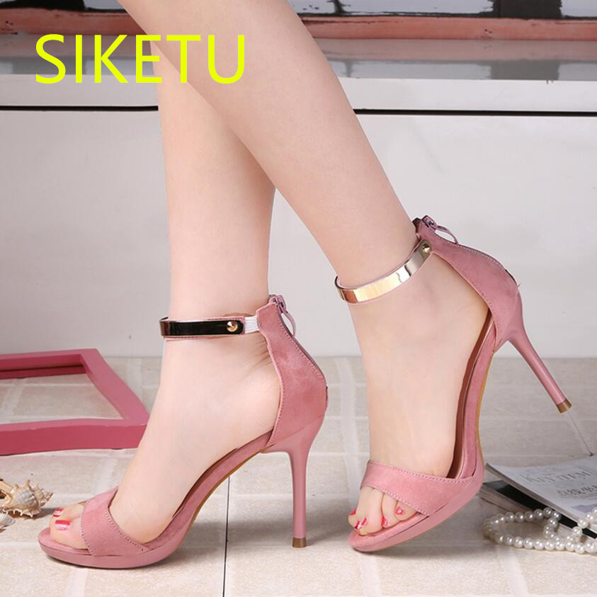 SIKETU 2017 Free shipping Spring and autumn high heels shoes fashion women shoes Wedding shoes sex Wild pumps g427 siketu 2017 free shipping spring and autumn women shoes high heels shoes wedding shoes nightclub sex rhinestones pumps g148