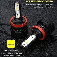 super bright 35w led fog light lemon yellow h7 H11 9005 9006 880 881 LED Headlght