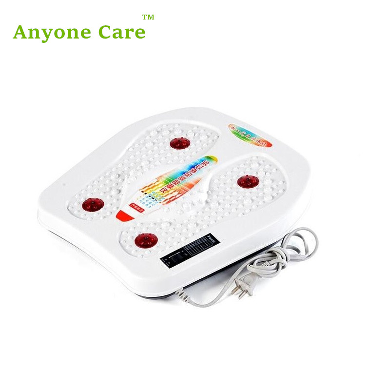 Foot massage device infrared magnetic therapy vibration heated foot health Foot massage machine foot machine foot leg machine health care antistress muscle release therapy rollers heat foot massager machine device feet file