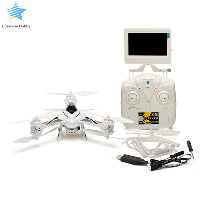 Cheerson CX-33S CX33S 2.0MP HD Camera 5.8G FPV With High Hold Mode RC Quadcopter Helicopter Model Switch