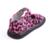 Zapatos de los bebés leopardo imprimió la tela marrón caliente rosa rojo blanco negro niño suela plana para las muchachas venta de descuento niña de una sola