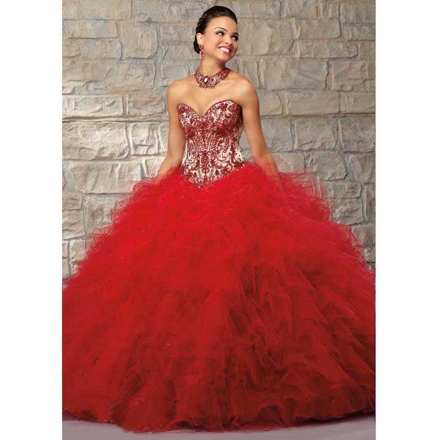 Quince Red Dress Strapless