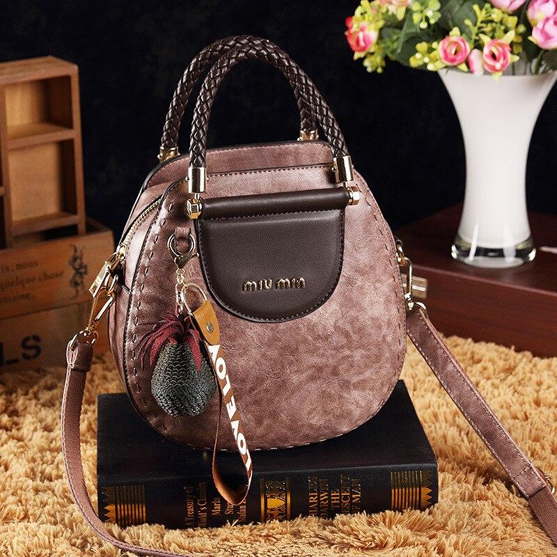 Image 4 - New women messenger bag female small tote top handle bag shoulder  crossbody bags ladies designer handbag famous brands  BandoleraTop-Handle Bags