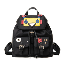 2016 new robot Backpack Bag funny personality backpack summer leisure bag bag trend of middle school students