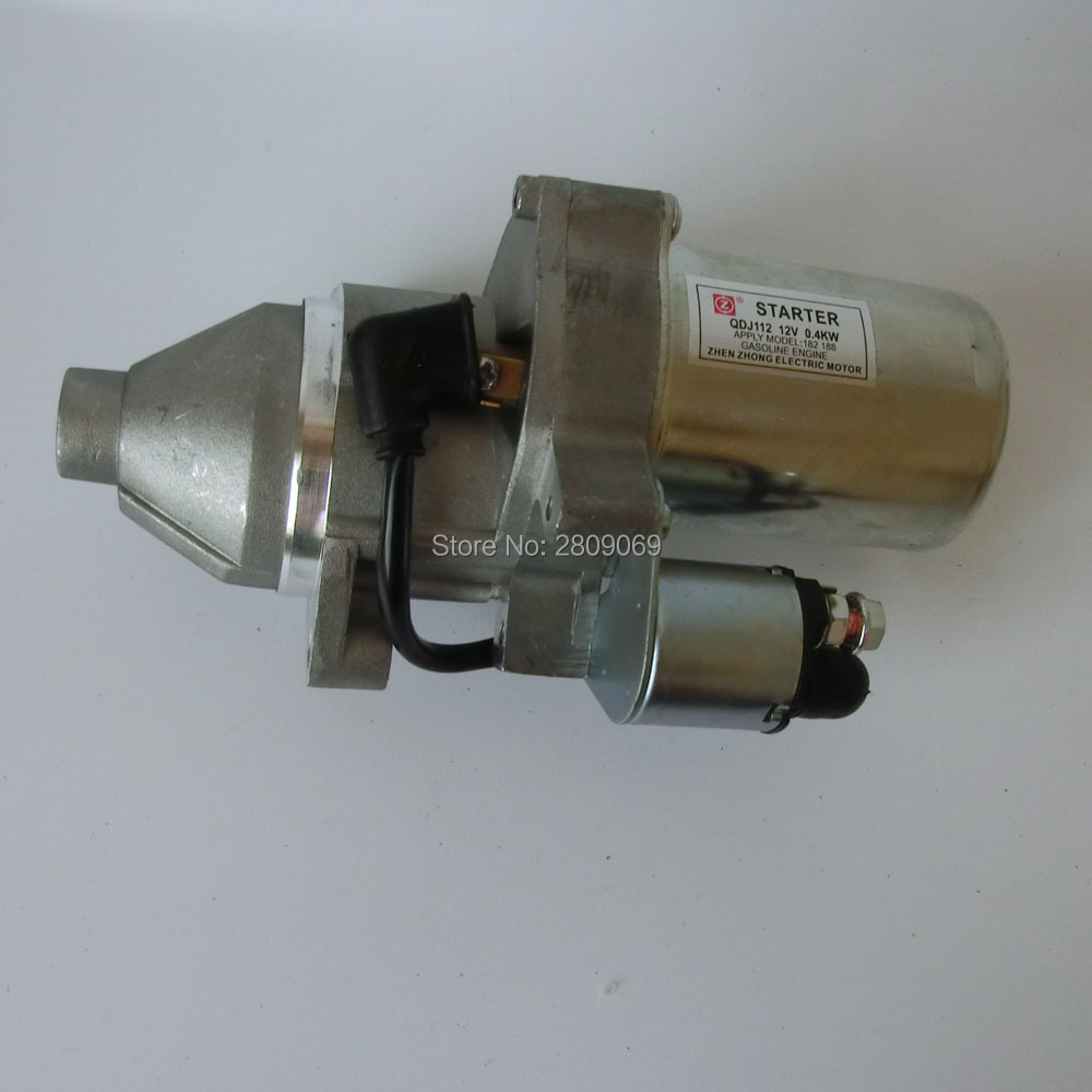Здесь можно купить   QDJ112 12V 188F 190F 5~6.5kw gasoline generator engine eletric starter Строительство и Недвижимость
