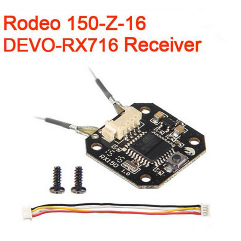Walkera Rodeo 150 RC Quadcopter Spare Part DEVO-RX716 Receiver Rodeo 150-Z-16 h22 007 receiver board spare part for h22 rc quadcopter