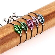 Hot Cowrie Colorful Shell Jewelry Bracelets for Women Delicate Rainbow Easy Match Handmade Bracelet Pulsera