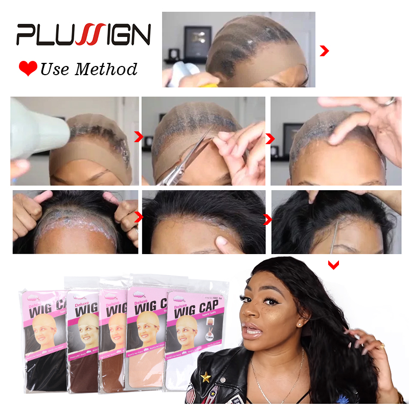 Clearance Quality Deluxe Wig Cap Hair Net For Weave 2 Pieces/Pack Hair Wig Nets Stretch Mesh Wig Cap For Making Wigs Free Size 5