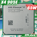 AMD Phenom II  X4 905E CPU Processor  Quad-CORE (2.5Ghz/ 6M /65W / 2000GHz) Socket am3 am2+  free shipping 938 pin sell X4 910e