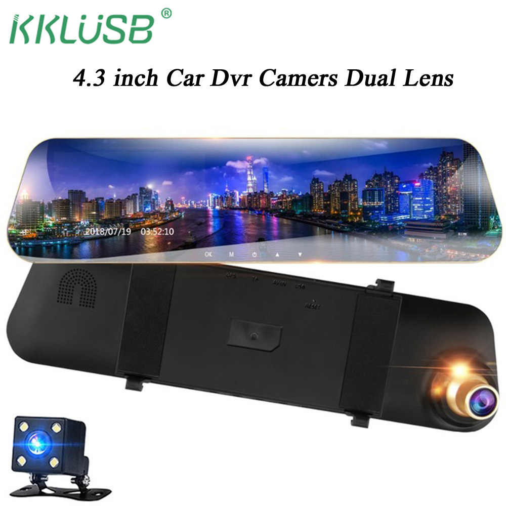 car dvr camera full hd 1080P Digital Registrar Video Recorder yi smart DashCam dual camera cam car detector drive recorder dvr