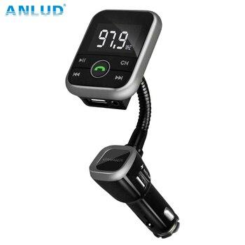 New Wireless Bluetooth LCD FM Transmitter Modulator Car Kit USB Charger MP3 Player Support USB SD Card  For iPhone Samsung FM-трансмиттер