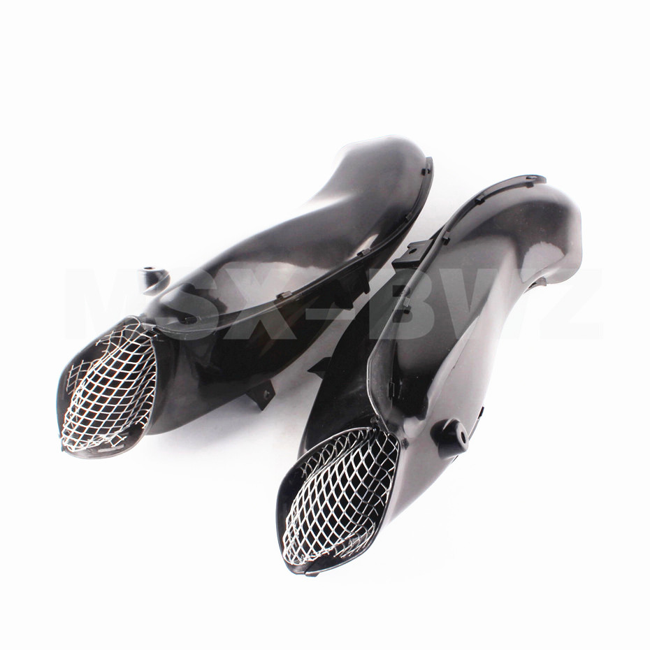 New Motorcycle Ram Air Intake Tube Duct Fit For Suzuki 04 05 GSXR 600 750 2004 2005 K4 new motorcycle ram air intake tube duct for suzuki gsxr600 gsxr750 k11 2011 2012 abs plastic black
