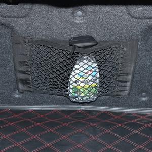 Image 4 - Rede interior automotiva, rede elástica para armazenamento de porta malhas, bolso, gaiola mágica