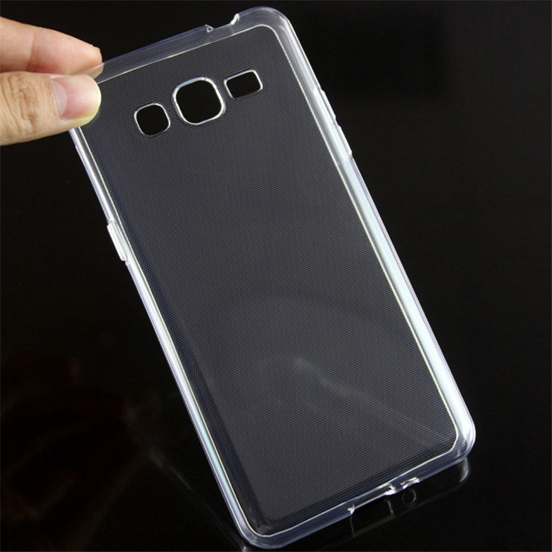 For Samsung Galaxy J2 Prime Case Thin Crystal Soft TPU Clear Silicon Cover For Samsung Grand Prime Plus Cases Transparent G532