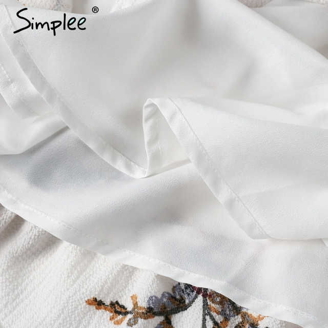 Simplee Off shoulder print jumpsuit romper women Sexy high waist summer beach playsuit Boho tassel chiffon overalls leotard